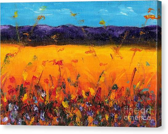 Melissa's Meadow Canvas Print