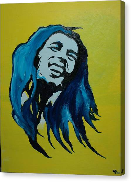 Mellow Marley Canvas Print