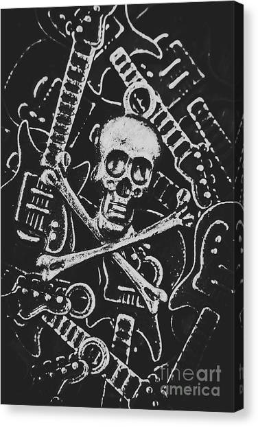 Punk Canvas Print - Melodic Death Metal by Jorgo Photography - Wall Art Gallery