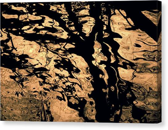 Melted Chocolate Canvas Print