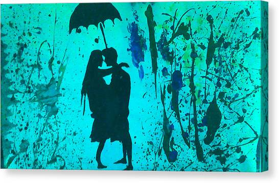God Canvas Print - Melted Crayons Lover by Love Art Wonders By God