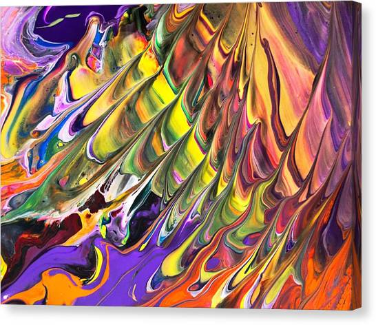 Melted Swirl Canvas Print