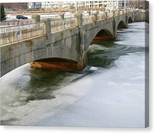 Melting Ice Canvas Print