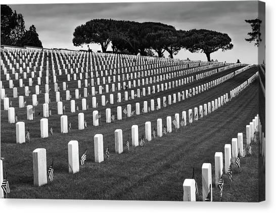 Memorial Day 2016 - Fort Rosecrans Canvas Print
