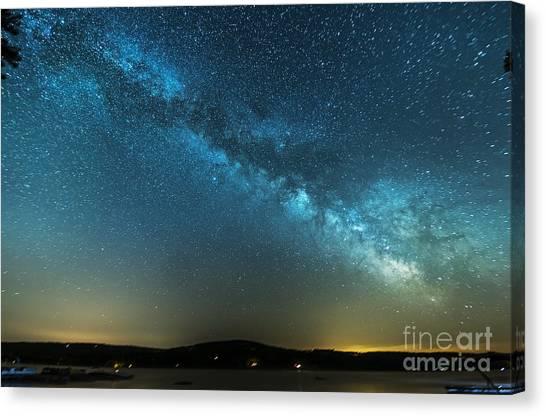 Memorial Day Milky Way Canvas Print