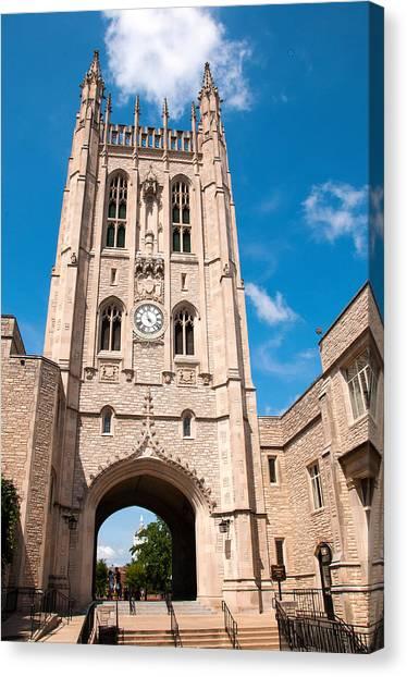 University Of Missouri Canvas Print - Memorial Union Mizzou by Steve Stuller