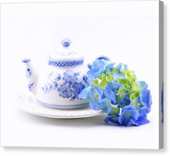 Memories In Blue Canvas Print