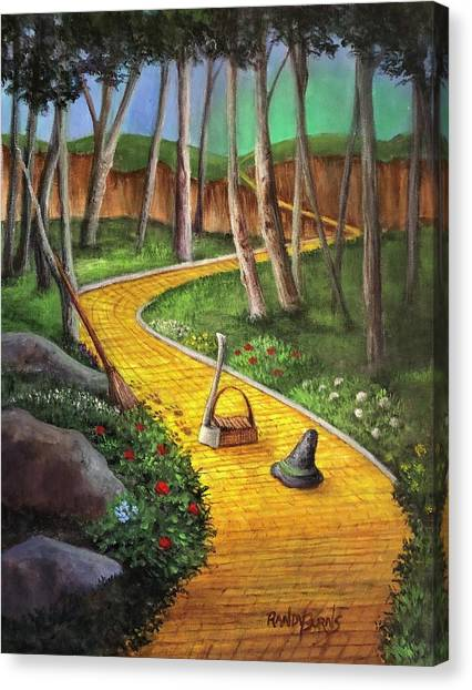 Memories Of Oz Canvas Print