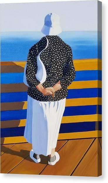 Memories Of The Sea Canvas Print