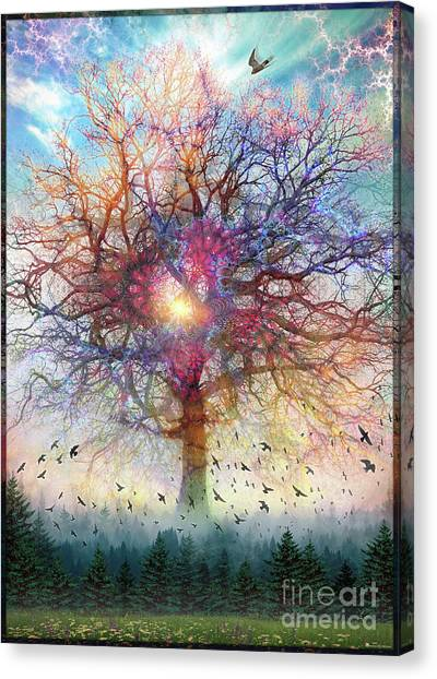 Memory Of A Tree Canvas Print