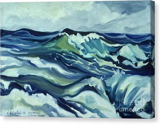 Memory Of The Ocean Canvas Print