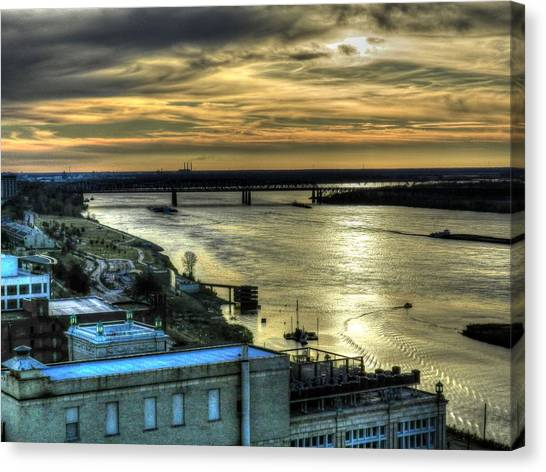 Memphis Fall Hdr 003 Canvas Print