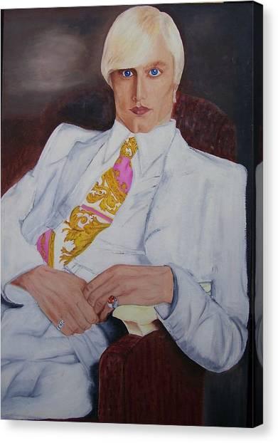 Men In White Canvas Print by Svetlana Vinokurtsev