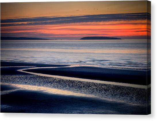 Menai Strait Canvas Print