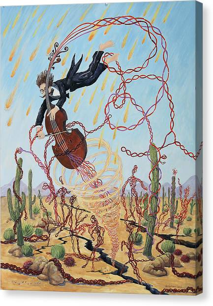 Mendelson's Macrofibers Gone Wild Canvas Print