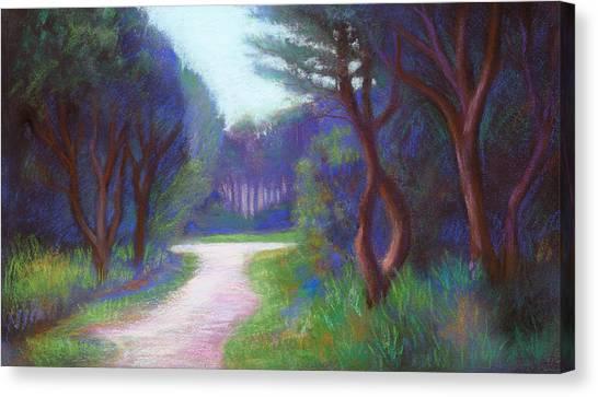 Mendocino Blue Canvas Print