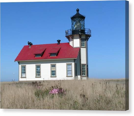 Mendocino Lighthouse Canvas Print