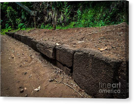 Menehune Ditch Kauai Canvas Print