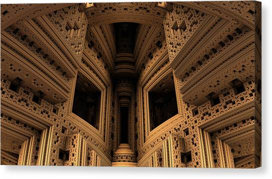 Menger Cathedral Canvas Print