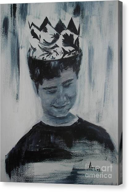 Menino Canvas Print by Ana Picolini