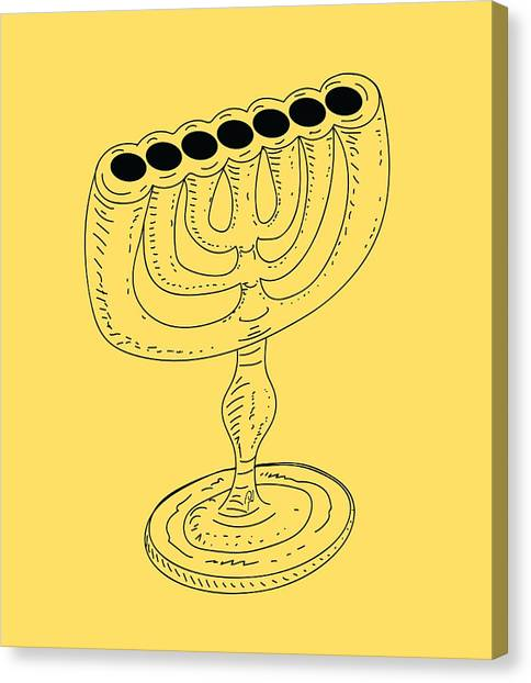 Menorah 1 Canvas Print