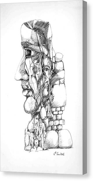 Mental Images 1 Canvas Print