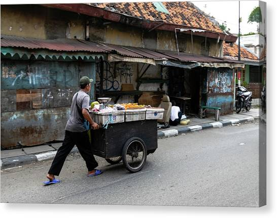 Canvas Print - Menteng 1 by Steven Richman