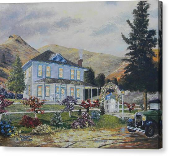 Mentryville Canvas Print