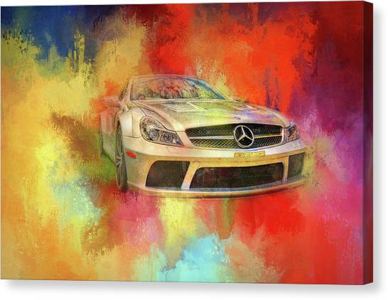 Merc Hot Rod Canvas Print