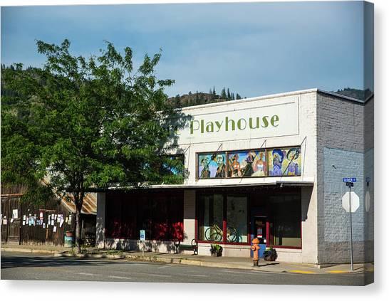 Merc Playhouse In Twisp Canvas Print