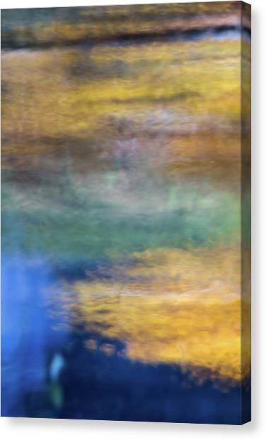 Yosemite National Park Canvas Print - Merced River Reflections 13 by Larry Marshall