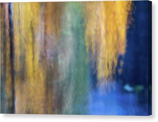 Yosemite Canvas Print - Merced River Reflections 17 by Larry Marshall