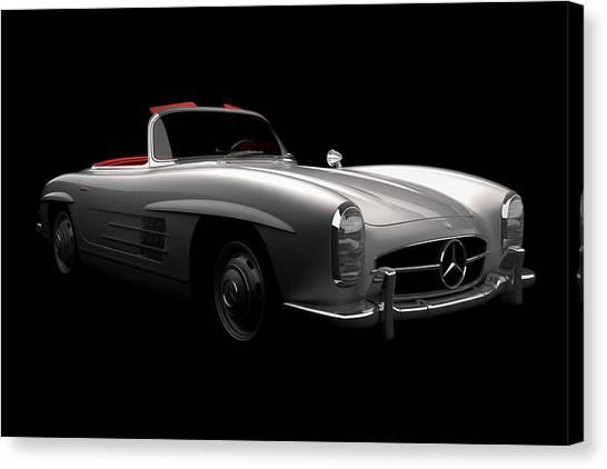 Mercedes 300 Sl Roadster Canvas Print
