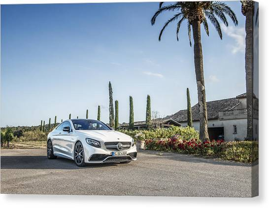 Mercedes Benz S63 Coupe Canvas Print