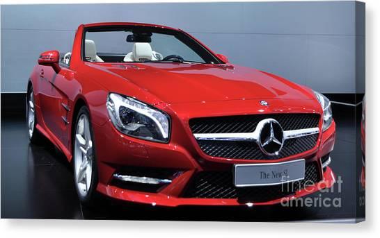 Mercedes Benz Sl Canvas Print