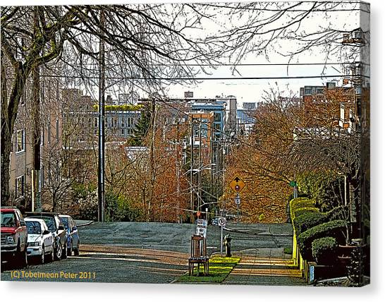 Mercer Street Canvas Print