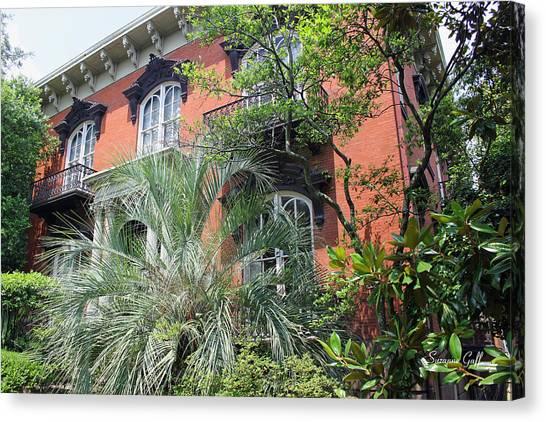 Mercer Williams House-savannah Ga Canvas Print