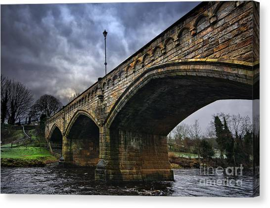 Mercury Canvas Print - Mercury Bridge, Richmond by Smart Aviation