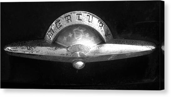 Mercury Emblem Canvas Print by Audrey Venute