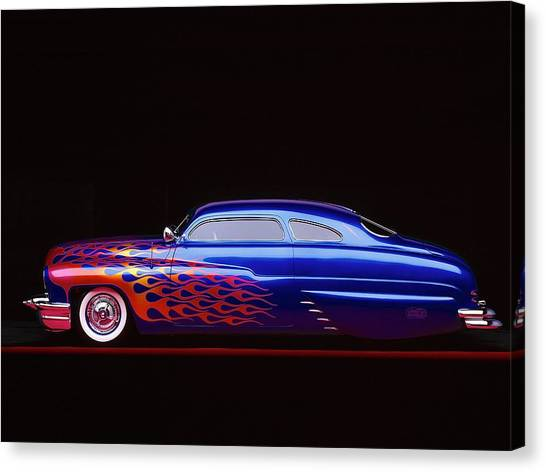 Mercury Canvas Print - Mercury by Jackie Russo