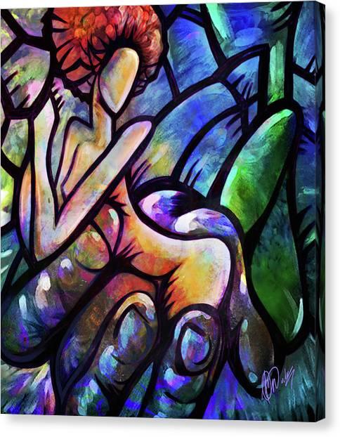 Mercy's Hand Canvas Print
