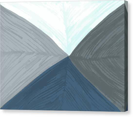 Merge Canvas Print