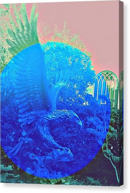 Emory University Canvas Print - 'merica Avante Garde by Andy Rhodes