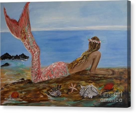 Mermaid Beauty Canvas Print