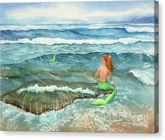 Mermomma Canvas Print