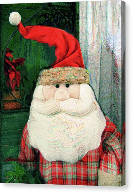Merry Christmas Art 15 Canvas Print