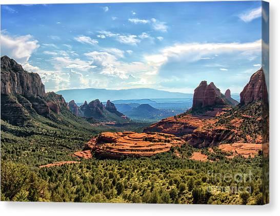 Merry Go Round Arch, Sedona, Arizona Canvas Print