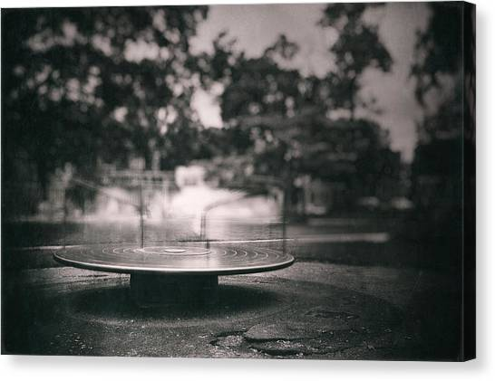 Spin Canvas Print - Merry Go Round by Scott Norris