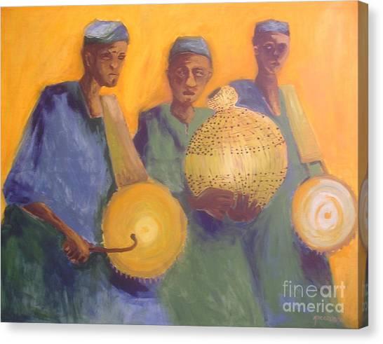 Merry Makers Canvas Print by Joe Ibenegbu Azunna