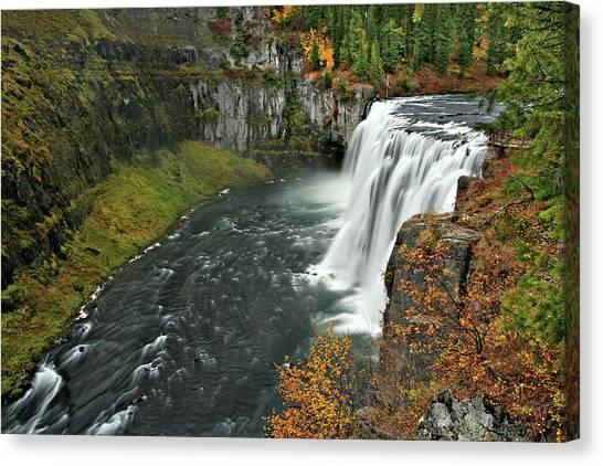 Mesa Falls Canvas Print